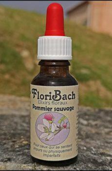 fleur de bach floribach 10 crab apple pommier sauvage